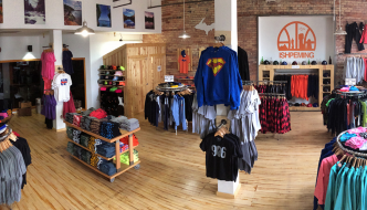 Yooper Shirts Moves Up to Third Street, and TriMedia Classes Up Washington Street